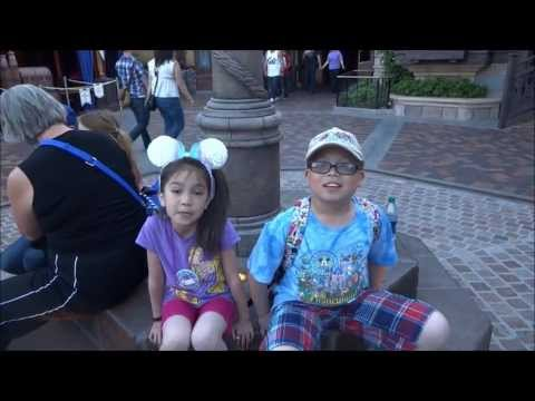 Disneyland Spring 2013 Part 1 vlog #72