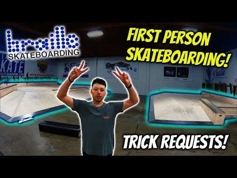 BrailleHouse Trick Request!!! First Person Skateboarding!!!