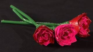 How To Make A Duct Tape Rose