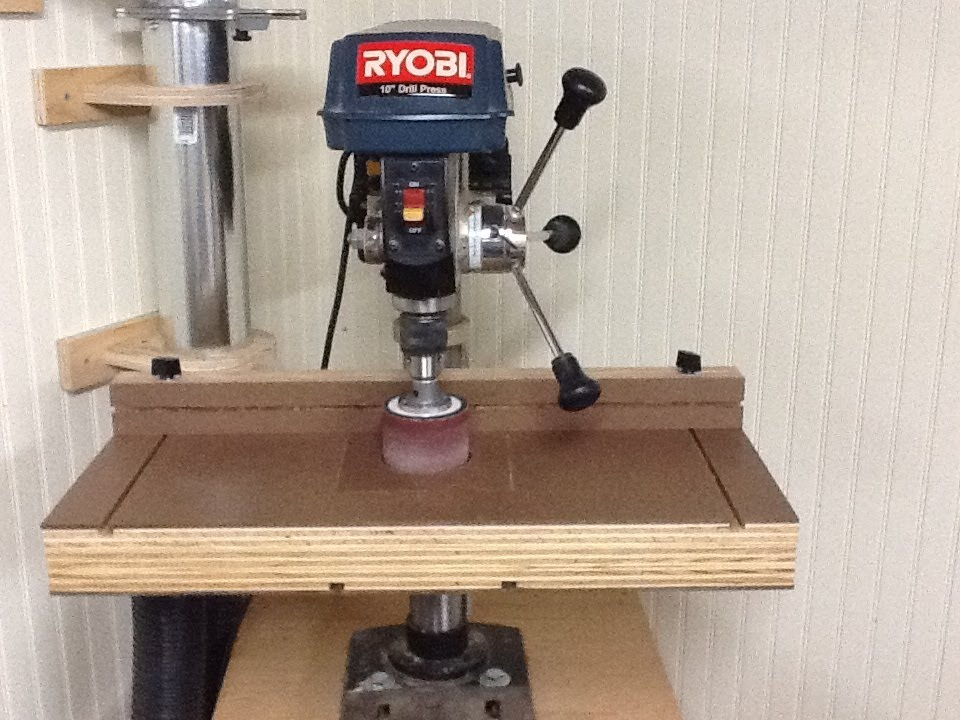 Build the Ultimate Drill Press Table - YouTube