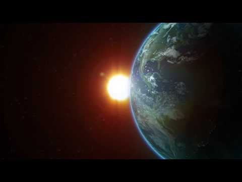 Planet Earth Sunrise - After Effects