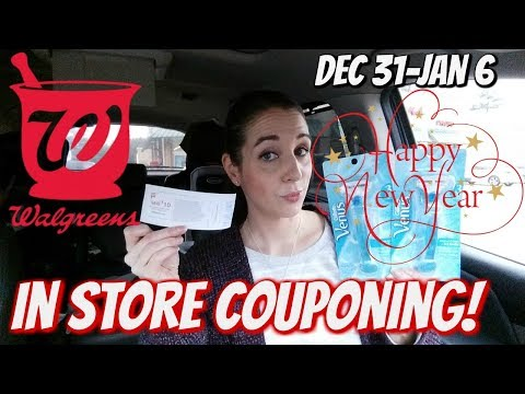 WALGREENS IN STORE COUPONING 12/31/17-1/6/18! FREE RAZORS/CHEAP HOUSEHOLD PRODUCTS!