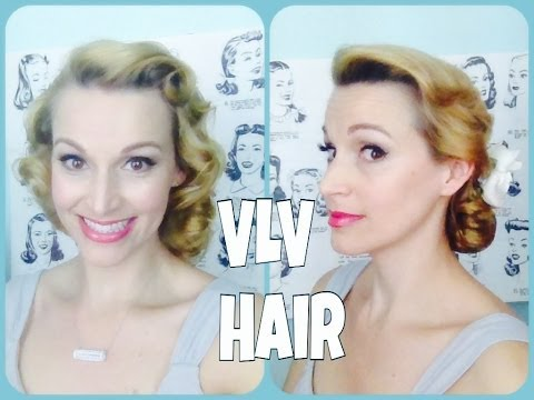 Doris Day-to-Night -Simple Vintage Hair-Especially for VLV