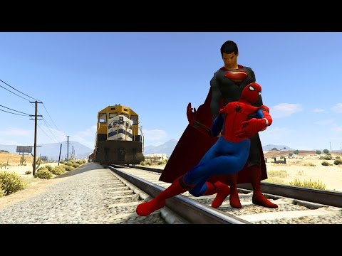 GTA 5 Superman Mod!(GTA V Brutal kill Funny moments Thug life)