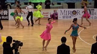 00089 2018 舞王世界公開賽 國高中單人 Tango 初賽