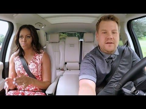 Watch Michelle Obama Dance To Beyonce In Carpool Karaoke