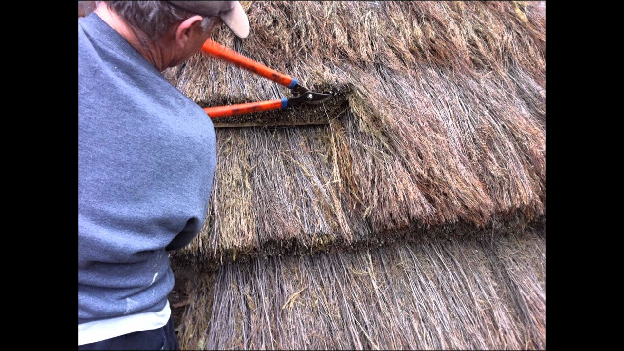 How to build an african styled thatch roof youtube - How to make a thatched roof ...