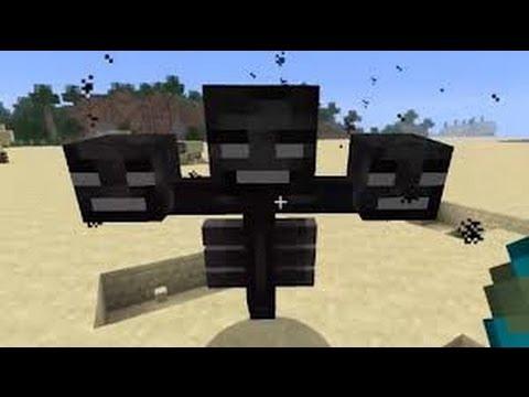 Minecraft - Cómo invocar a Wither (Para TODAS las versiones)