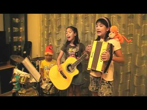 Lenka - Everything At Once (kids Acoustic Band Cover) video