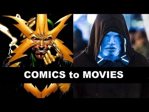 The Amazing Spider-Man 2 2014 - Jamie Foxx is Electro! From Comics to Movie to Trailer