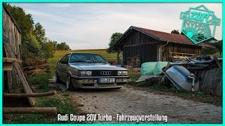 Audi Coupe Type 81 | 20V Turbo | Fahrzeugvorstellung | BBS | stance | launch