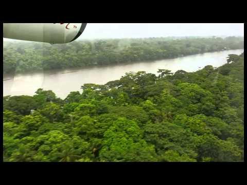 Avion taxi à Tortuguero. Costa RIca