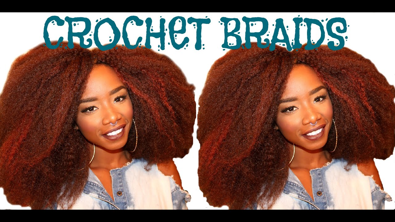 How To: Crochet Braids Using Marley Hair Plus Removal - YouTube