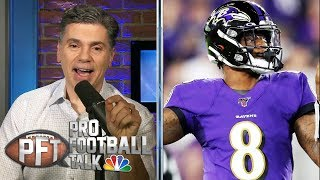 Lamar Jackson, Ravens' early exit shouldn't diminish MVP season | Pro Football Talk | NBC Sports