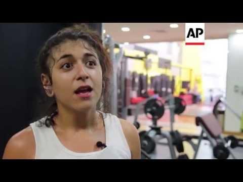 Teenager hailed as Arab world's 1st female pro wrestler