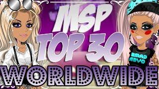 TOP 30 MSP PLAYER WORLDWIDE!