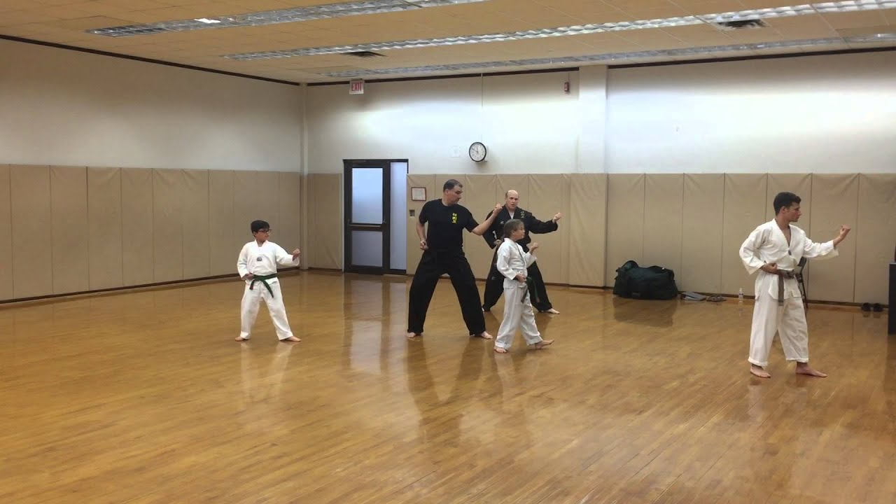 Karate Form For Red Belt 3 Mia
