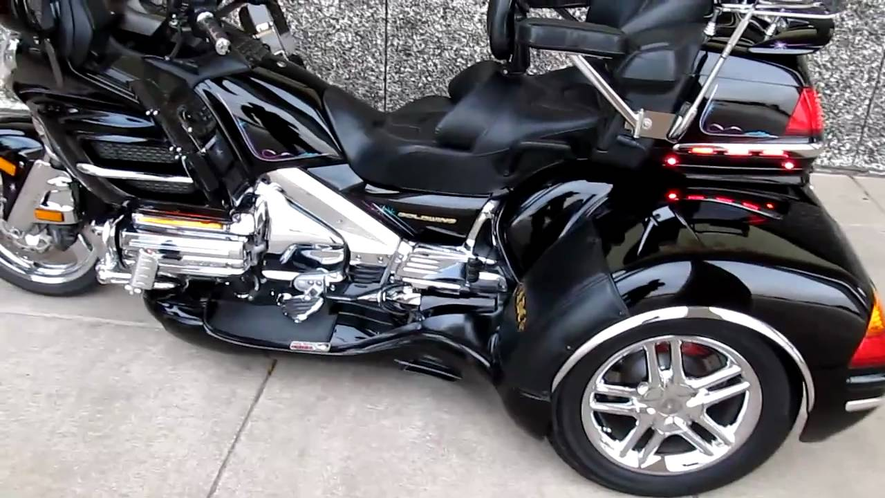 Goldwing Motorcycle For Sale Honda Goldwing California side car For Sale - YouTube