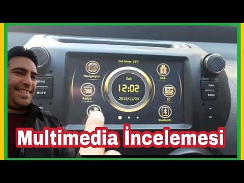FİAT FİORİNO Araç içi multimedya cihazı NAVİGASYON BLUETOOTH SİSTEMİ 9 AY TAKSİTLE