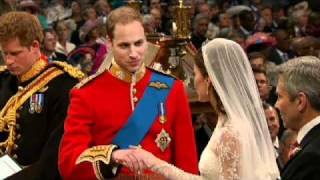 VIDEO: Kate and William Exchange Vows
