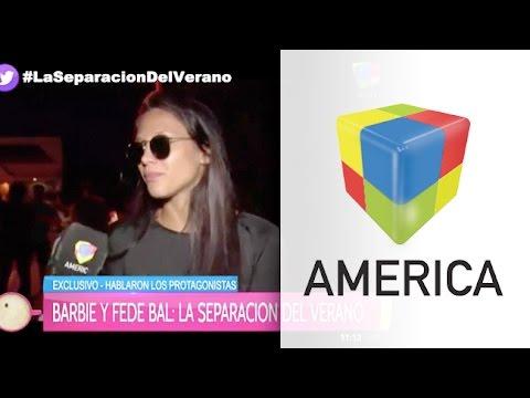 """Barbie Vélez, tras su separación de Fede Bal: """"Estoy triste y conmovida"""""""