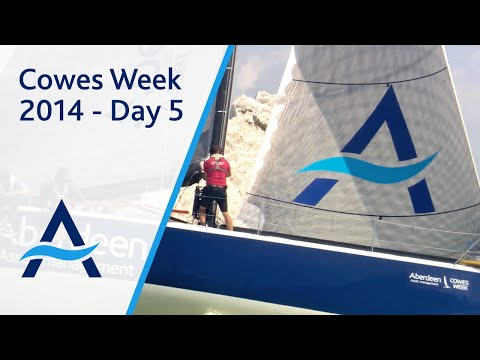 Aberdeen Asset Management Cowes Week 2014 Day 5 Highlights