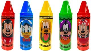 Colorful Crayons Mickey Mouse Clubhouse Friends Weeble Playground