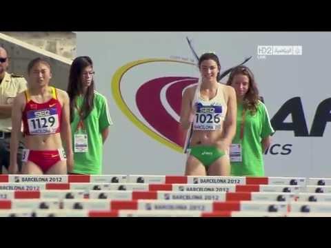 image vidéo Une athlète australienne ultra détendue et ultra rapide