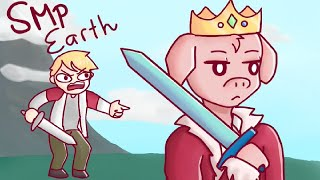 minecraft but we cyberbully a small child (SMP Earth)