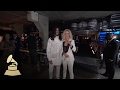 Katy Perry & Skip Marley Backstage Having Fun | Backstage | 59th GRAMMYs