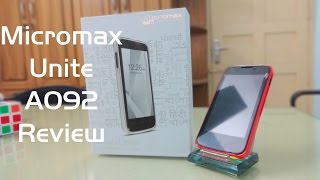Micromax unite A092 Review benchmarks and camera response test