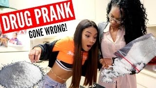 COCAINE PRANK ON MOM GONE VIOLENT!!! 😱😂 she kicks me out!