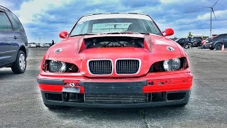 BMW E36 V12 Drag Race Project Tuning Car