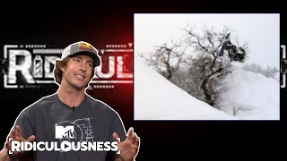 Travis Pastrana Almost Broke His Back On A Tree | Ridiculousness