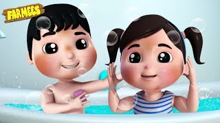 Bath Song | Baby Songs & Nursery Rhymes by Farmees