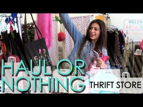 Haul or Nothing: Thrift Store Shopping [Part 1/2]