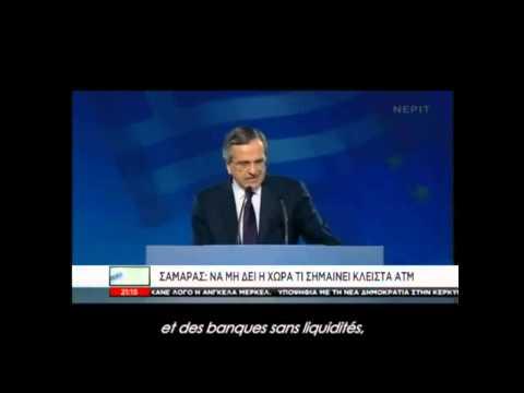 Charlie Hebdo : l'indécence du 1er ministre Antonis Samaras en Grèce