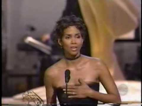 Halle Berry wins 2000 Emmy Award for Lead Actress in a Miniseries or Movie
