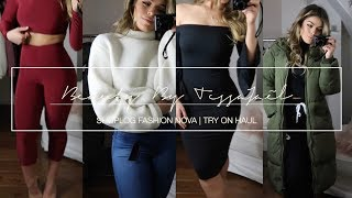 SHOPLOG O.A. FASHION NOVA NEDERLAND | TRY ON HAUL
