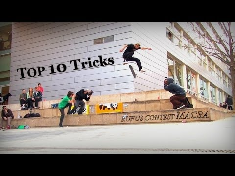 MACBA BIG3 (TOP 10 TRICKS) - Rufus Skate Contest