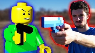 LEGO meets Minecraft - Full Lego Wars Animation Movie!!! (Minecraft Animation)