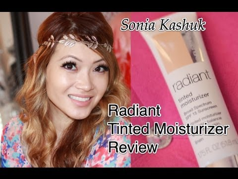 Sonia Kashuk Radiant Tinted Moisturizer Review and POP Sugar Giveaway