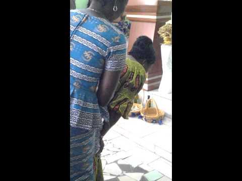 GUERISON MIRACULEUSE D'UNE FEMME EN COTE D'IVOIRE AVEC LE PROPHETE DOUMOUYA KAMELI 2015