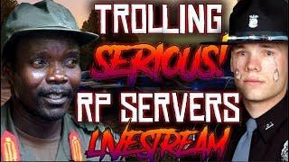 FUNNY African Rebel RDM Trolling! *SERIOUS* Cop Roleplay Server! Gta 5 FiveM RP 👮