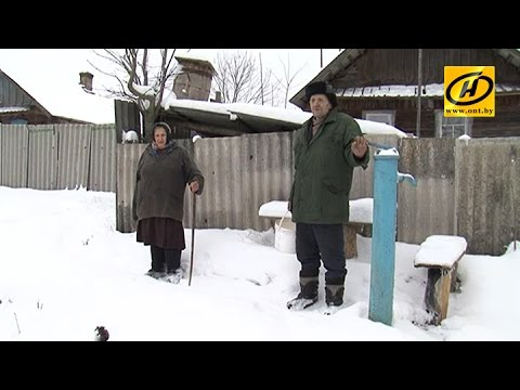 Жители нескольких деревень в Беларуси почти две недели живут без воды и электричества
