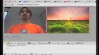 Experiment/Talk: Chroma key in JS - live code at W3C WebBR 2012