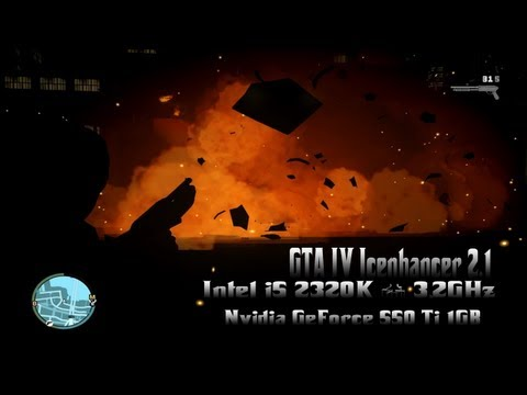 GTA IV  Icenhancer 2.1 - Intel i5 2320K @ 3,2GHz, Nvidia GeForce 550 Ti 1GB