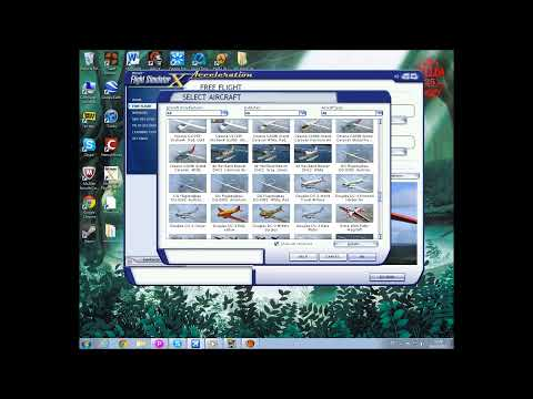Microsft Flight + Flight Simulator - Gameplay
