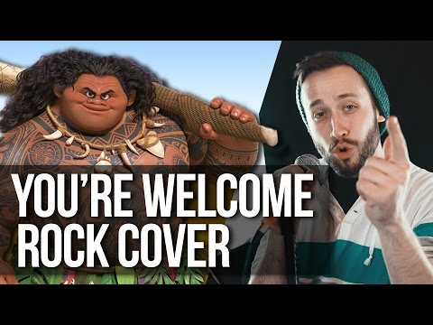 YOU'RE WELCOME - Disney's Moana (Pop Punk cover version) Jonathan Young
