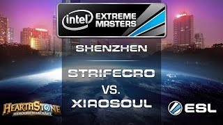 StrifeCro vs. XiaoSoul - Group A - IEM Shenzhen - Hearthstone